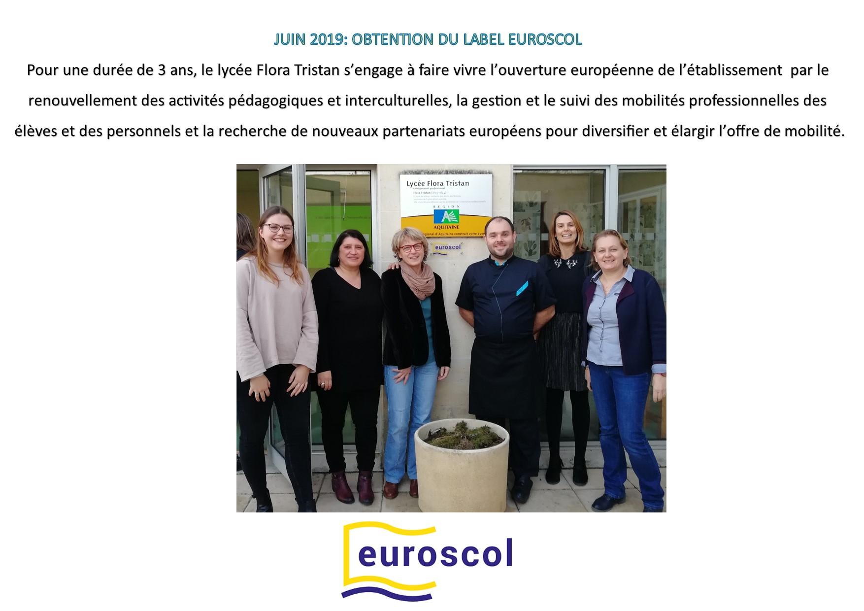 comm obtention label eursocol